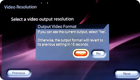 Setting up your TV's resolution